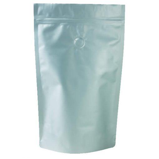 Lamizip® laminerede lynlåsposer mat sølv